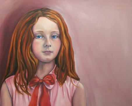portraitgirlredhead